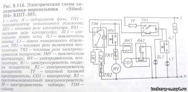 Электрическая схема (рис.